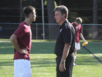 Joe Veal  Aquinas College Men's Soccer Coach